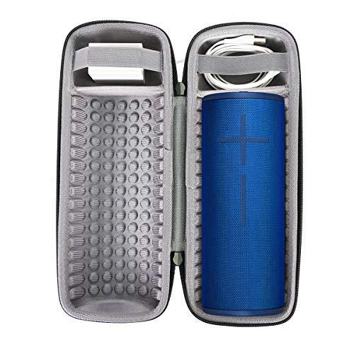 co2crea Hard Travel Case for Ultimate Ears UE MEGABOOM 3 Portable Bluetooth Wireless Speaker (Black case for Speaker)
