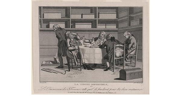 Foto: Ministros de las finanzas, Directorio, Francia, 1797. Tamaño ...