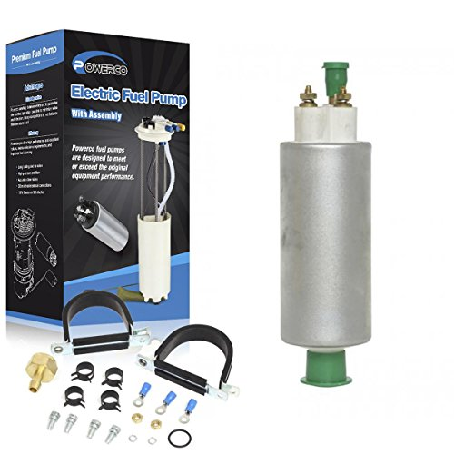 POWERCO Fuel Pump E8094 SP1175 Replacement for Chrysler Imperial 5.2L V8 318ci 1982, 12-26 PSI 49.4-58.7 GPH - Universal TBI Replacement with Repair Kit