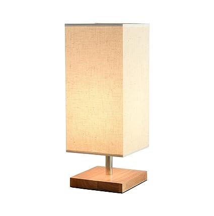 TDGHH GUIHONG Home® Lámpara de Mesa, Madera Estudio de Arte ...