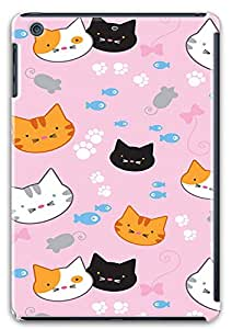 iPad Mini Retina Case,iPad Mini Retina Cases - Feline Heaven PC Custom Design iPad Mini Retina Case Cover - Polycarbonate