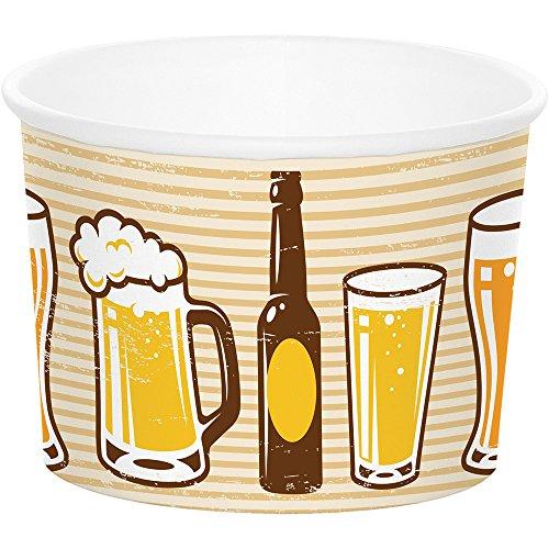 Creative Converting Paper Treat Cups, Cheers & Beers