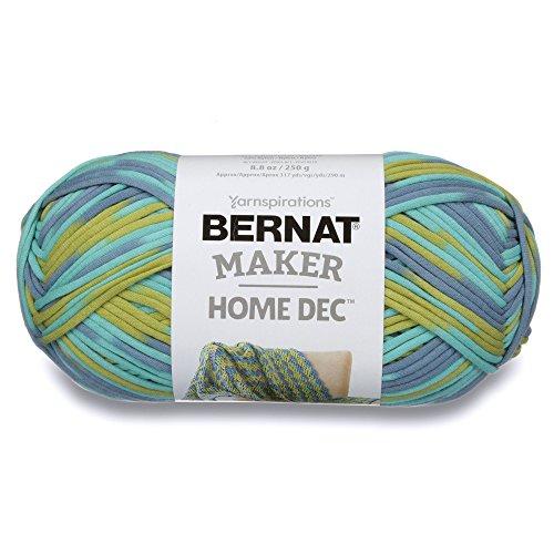 (Bernat Maker Home Dec Yarn, 8.8oz, Guage 5 Bulky Chunky, Pacific)