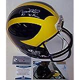 Desmond Howard Autographed Hand Signed Michigan Wolverines Full Size Helmet - BAS Beckett - Beckett Authentication