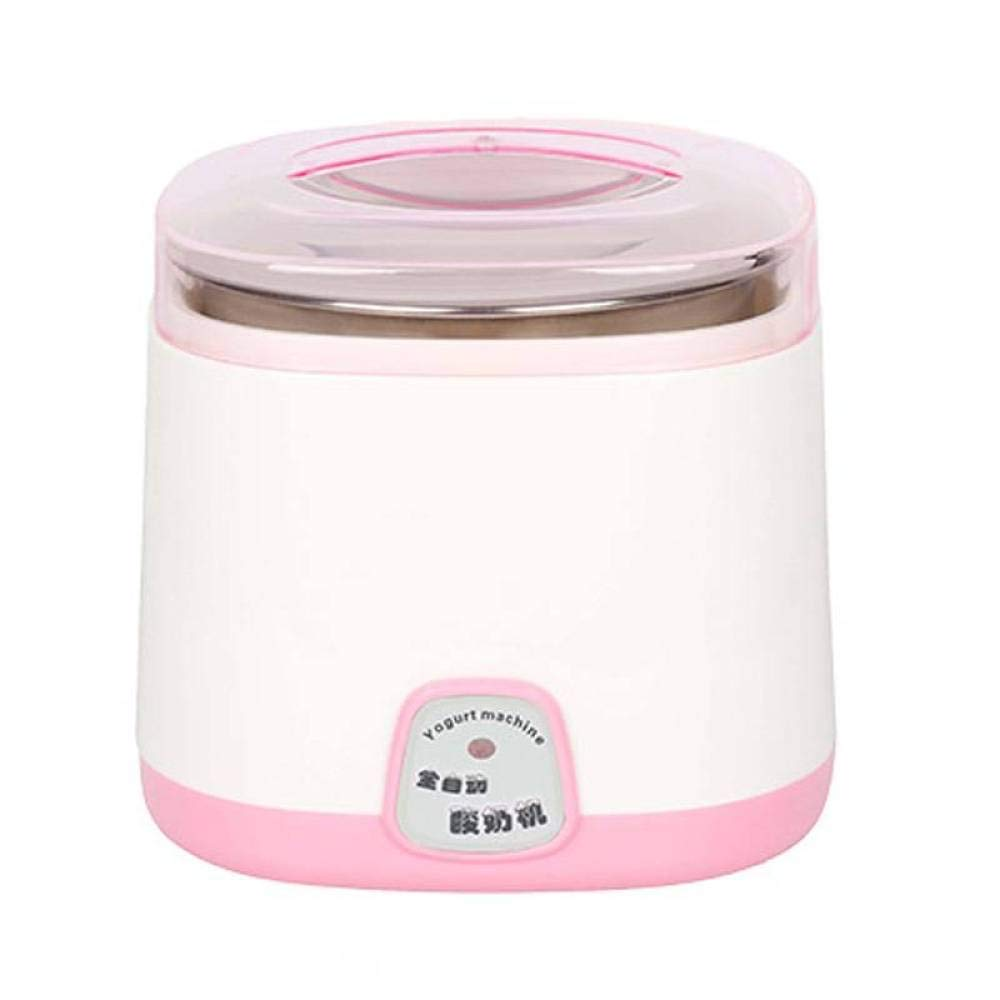 BBG Yogurt Machine Automatic Home Multi-Function Intelligent Fermentation Machine Rice Wine Machine Large Capacity natto Genuine,Pink,One Size by BBG (Image #1)