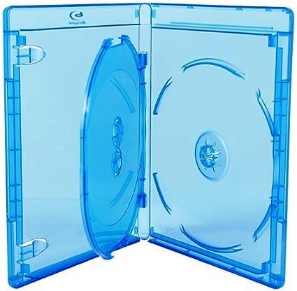 10x Amaray Blu-ray de 3discos, 21mm en embalaje de comercio de dragón