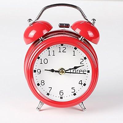 LINSINCH - Despertador analógico de Cuarzo, Reloj Despertador ...