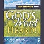 God's Word Heard!: New Testament |  Baker Publishing Group