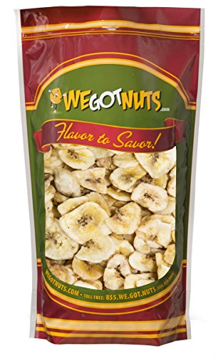 We Got Nuts Sweetened Banana Chips (4 Pounds) Sealed For Freshness - We Got Nuts ()