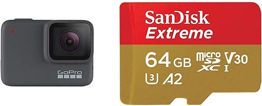 Amazon Com Gopro Hero7 Silver 1 Microsd Card Camera Photo
