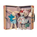 The Little Wardrobe Armoire (Includes Clothes and Dolls)