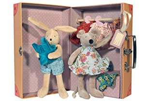 moulin roty la grande famille the little armoire clothing dolls incl toys games. Black Bedroom Furniture Sets. Home Design Ideas