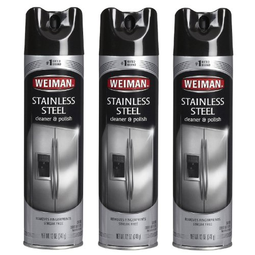 Weiman Stainless Cleaner Polish Aerosol