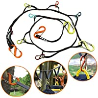 Outdoor Camping lanyard with Hook, Camping Rope Outdoor...