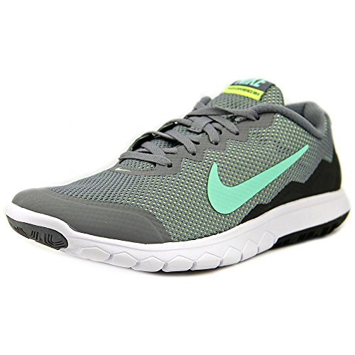 Nike Men's Flex Experience RN 4 (Cl Gry/Grn Glw/Anthrct/Ghst Gr) Running Shoe, 7.5 B(M) US (Nike Flex Run 2015 Mens Running Shoes)