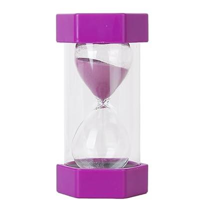 amazon com vstoy security fashion hourglass sand timer purple 15