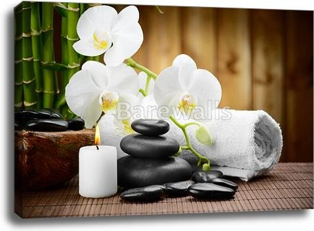 Spa Concept Gallery Wrapped Canvas Art (30in. x 40in.)