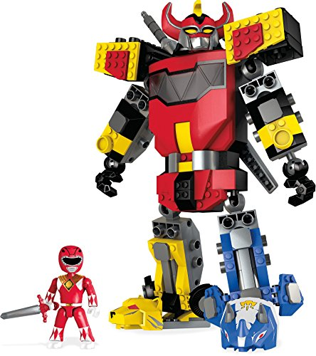 Best Character Costumes Of All Time (Mega Construx Mighty Morphin Power Rangers Mighty Morphin Megazord)