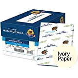 Hammermill Colored Paper, Ivory Printer Paper, 20lb, 8.5x11 Paper, Letter Size, 5000 Sheets / 10 Ream Case, Pastel Paper, Colorful Paper (103176C)