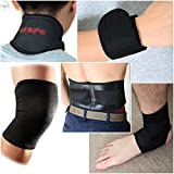 Xcellent Global 8 Pcs in 1 pack Tourmaline Nano Self-heating IR Infrared Magnetic Therapy Pain Relief Anti-arthritis Set/Kit Free Size for Full Body Relief Wrap(Wrist, Neck, Knee, Ankle, Waist) F-SP001