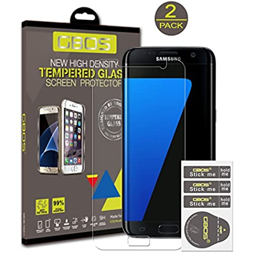 Samsung Galaxy S8 Plus Tempered Glass Screen Protector, GBOS Premium High Density Tempered Glass Anti-Scratch Ultra Clear 9H Sales