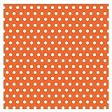 Amscan Orange with Polka Dot Jumbo Gift Wrap, Health Care Stuffs