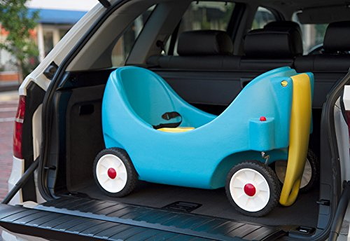 Simplay3 Toddler Wagon with Two High Back Seats, Cupholders, and Seatbelts