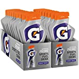 Gatorade Prime Sports Fuel Drink, Fierce Grape, 4 Ounce Pouches (Pack of 20)