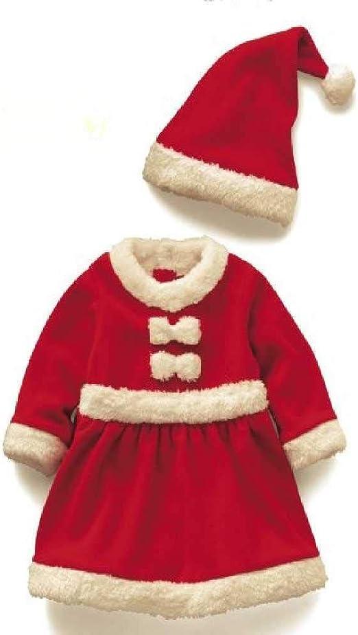 zhtao Disfraces De Navidad para Niñas Disfraz De Navidad para ...