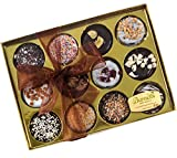 Barnett's Holiday Gift Basket | Chocolate Oreo Cookies Gift Box | 12 Delicious Flavors | Unique Elegant Gift For Men, Women, Birthdays, Corporate Gifts for Christmas