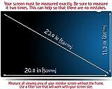 23.0 Inch (Diagonally Measured) Premium - Computer Privacy Screen Filter - Anti-Scratch, Anti-Glare Protector for Widescreen Monitors by VINTEZ