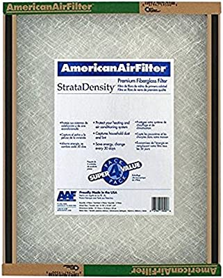 11 7//8 x 29 5//8 x 3//4 1 Standard Sizes Pack of 12 AAF 220-323-051 StrataDensity Double Sided Skin Fiberglass Panel Filters