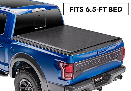Deuce Soft Roll-up, Hinged Combination for Ford F-250/F-350/F-450 Super Duty 6.5' Bed 779101 2017 Ford F-250/F-350/F-450 Super Duty 6'6 Bed (F250 Bed Cover Tonneau Hinged)