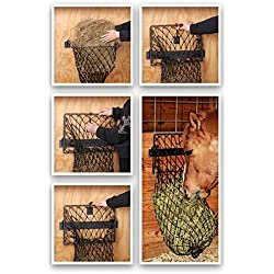 Tough 1 Hay Hoops Original Collapsible Wall Feeder w/Net P