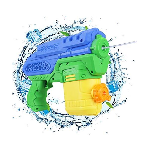 Anpro Pistola ad Acqua Elettrica per Bambini 300cc di Grande capacità-per Ragazzi, Ragazze, Piscina Estiva per Bambini… 1 spesavip
