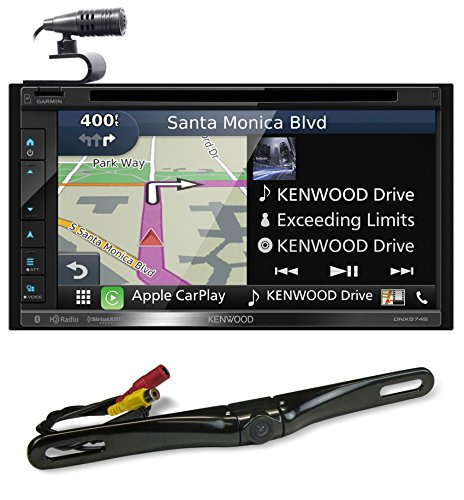 "Kenwood DNX574S 6.8"" Navigation DVD Bluetooth Receiver Car P"