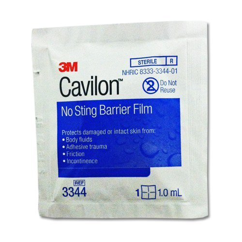 3M Medical & Surgical (n) Cavilon No-Sting Wipes Bx/25 4 Bxs/Cs