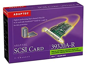 DRIVER UPDATE: ADAPTEC SCSI CARD 39320A-R