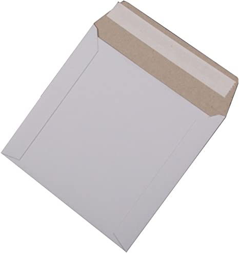 Caja de cartón para CD/DVD de 12,7 cm con solapa y sello, 300 unidades: Amazon.es: Electrónica