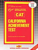 California Achievement Test (CAT), Rudman, Jack, 0837358019