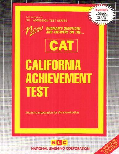California Achievement Test (CAT) (Admission Test - Test Standardized Achievement