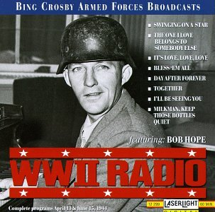 WWII Radio Broadcast April 13 & June 15, 1944 Christmas Broadcast Radio