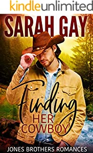 Finding Her Cowboy (Jones Brothers Romances Book 1)