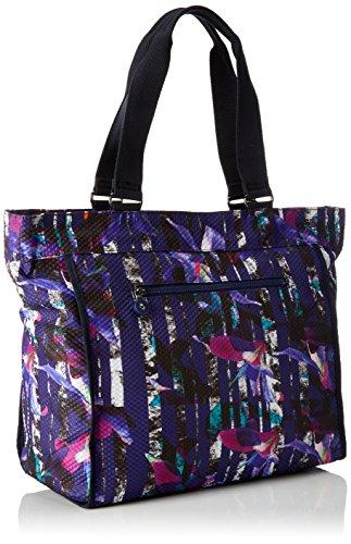 5x34x17 New x 48 Bl cm Femmes x T H B Shopper Urban Multicolore Kipling 5 Flower dfqIaq