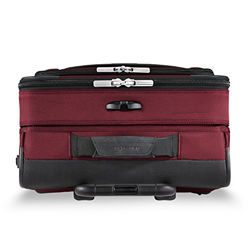 Briggs & Riley Transcend Wide Carry-on Expandable Spinner, Merlot by Briggs & Riley (Image #8)