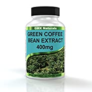 Pure Green Coffee Bean Extract 800mg with GCA Natural Weight Loss Supplement, Formulated Especially for Launching Your Green Coffee Bean Diet - Premium Quality - Fully Guaranteed Organic Green Coffee Bean Weight Loss Supplement, 60 Count Green Coffee Bean