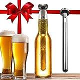 Dernord Beer Chiller Keeps Beer Cold Longer Chill Brew Beer Chillers Stainless Steel Bottle Wine Beverage Cooler Cooling Sticks ?Pack of 2?