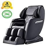 Electric S-Track Full Body Massage Chair Rocking Recliner with...