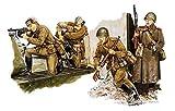 world war ii sniper - Platts 1/35 World War II the Soviet Army motorized sniper Berlin 1945 Plastic DR6019