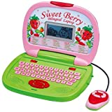 Winfun Little girl Kid Interactive Learning Simple Concepts LCD Laptop … (Sweet)